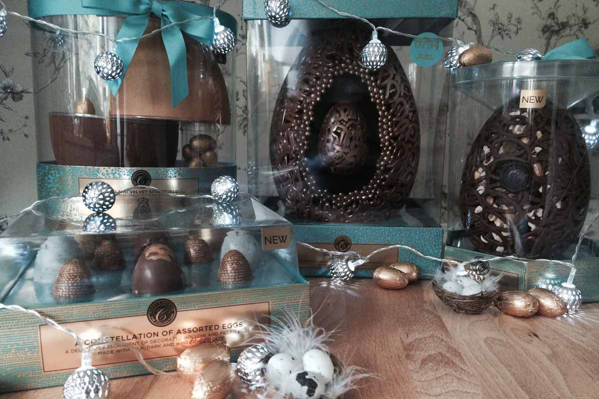 M&S Luxury Easter Eggs - Pikalily Food Travel Blog