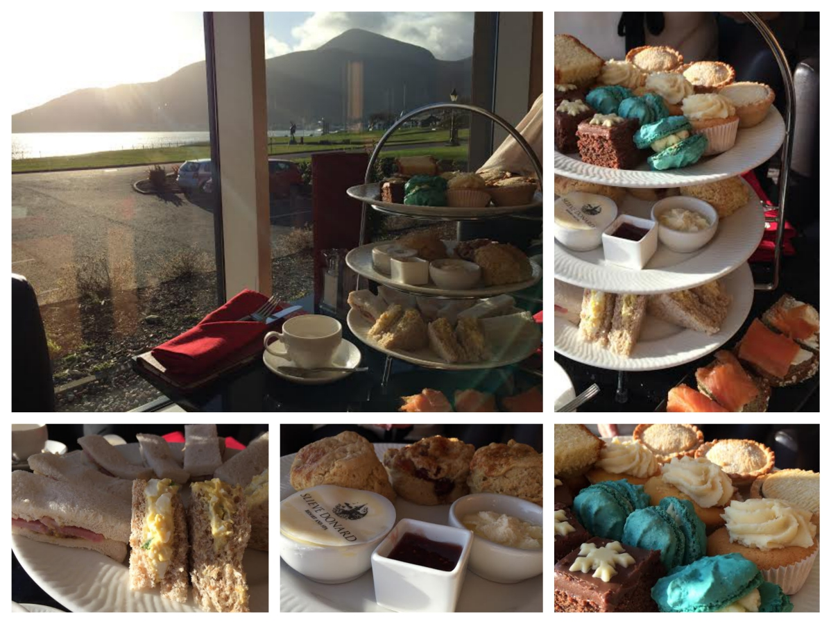 Afternoon Tea Lighthouse Lounge Slieve Donard Hotel - Pikalily Blog