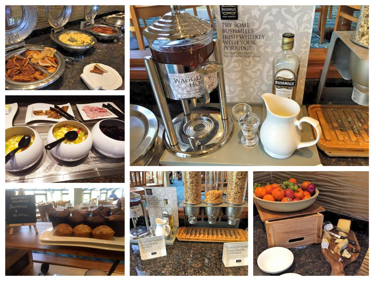 Breakfast Selection Stormont Hotel - Pikalily Food Travel Blog