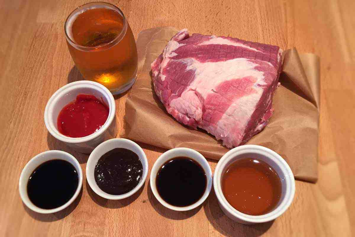 Honey Beer Pulled Pork Ingredients - Pikalily Food Blog