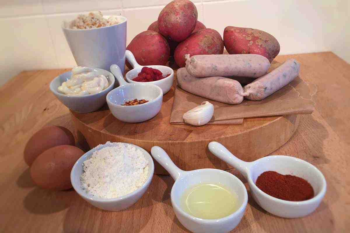 Spicy Spanish Potato Sausage Bomb Ingredients - Pikalily Food Blog