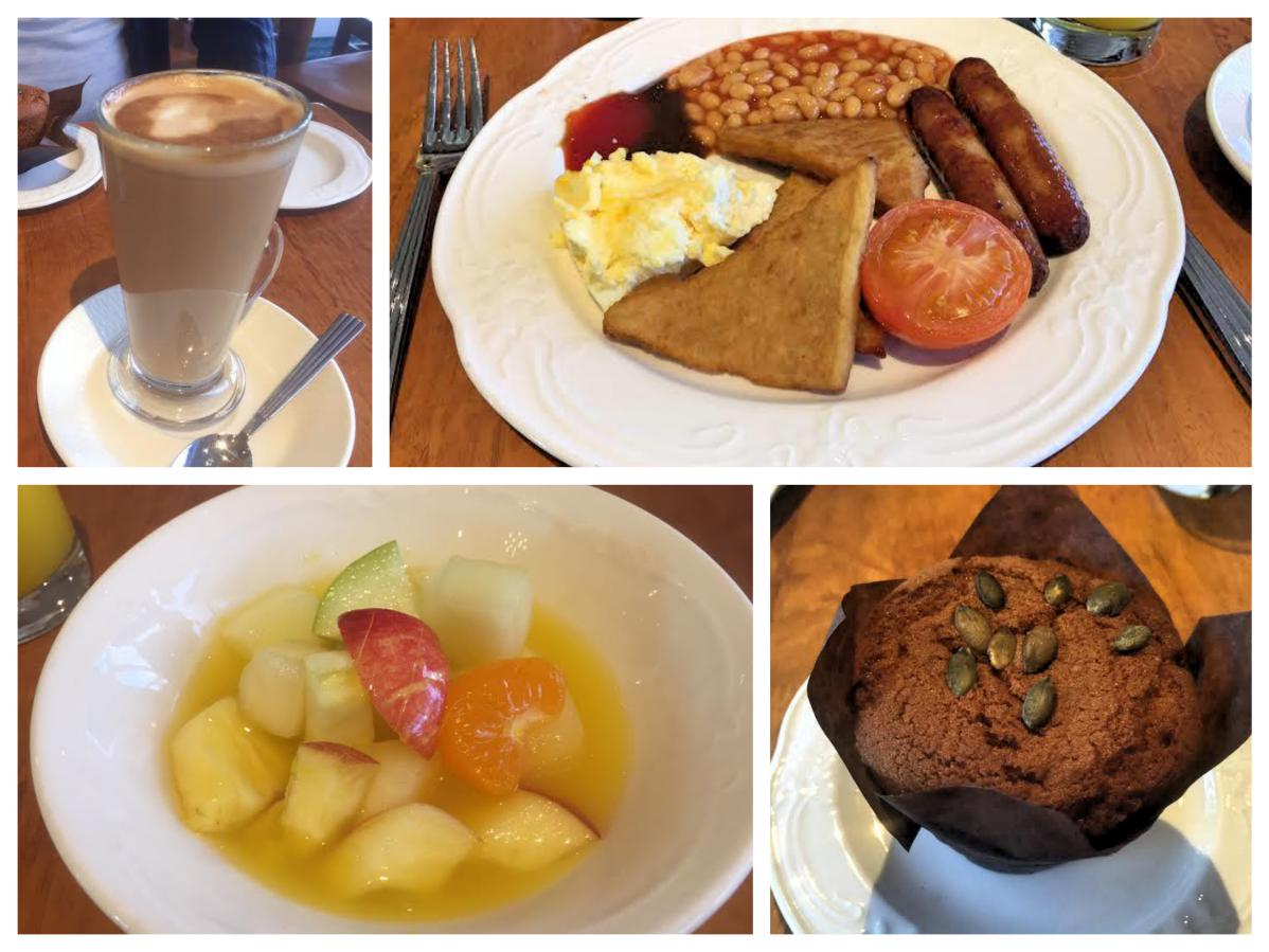 Breakfast at the Stormont Hotel - Pikalily Food Travel Blog