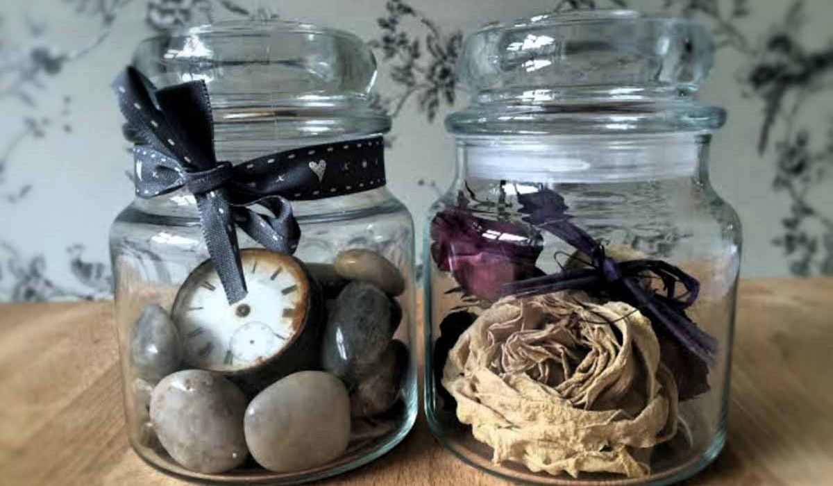 Cute ways to re-use jar candles