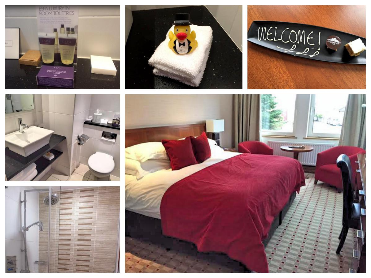 Stormont Hotel Bedroom En Suite - Pikalily Food Travel Blog