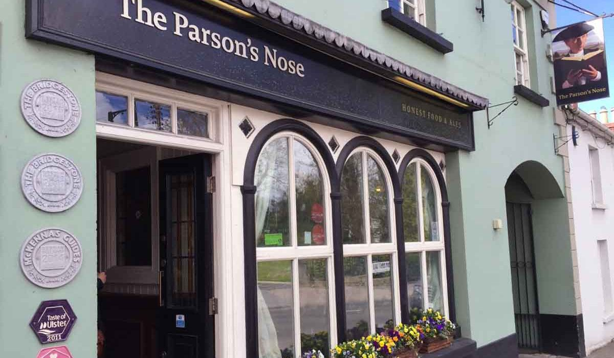 Tasty lunch at the Parson's Nose, Hillsborough
