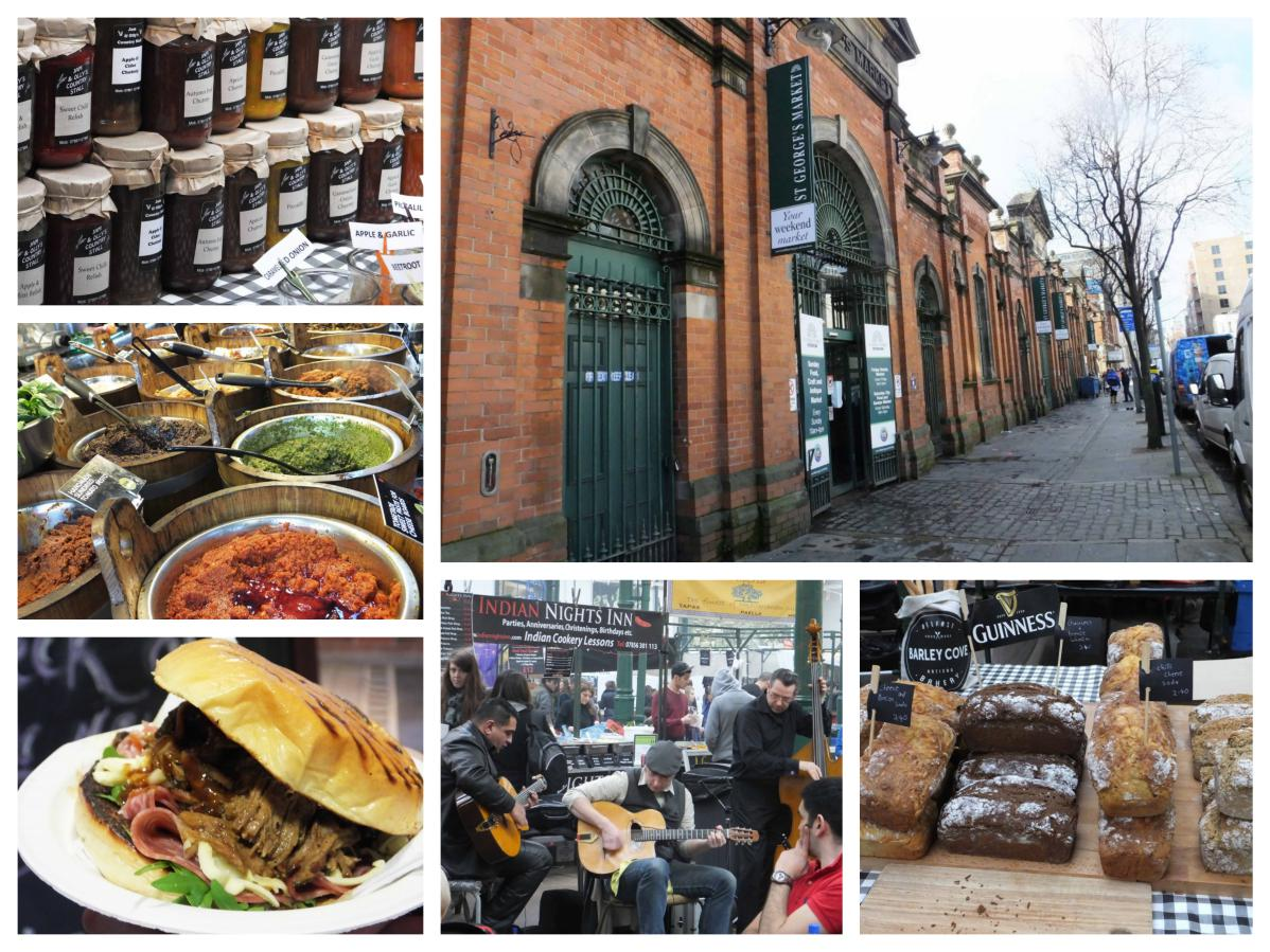 St Georges Market Belfast - Pikalily Food Travel Blog