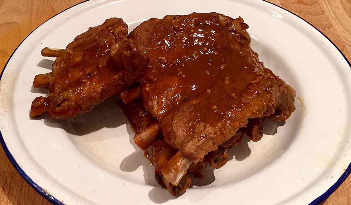 Pressure Cooker BBQ Pork Ribs