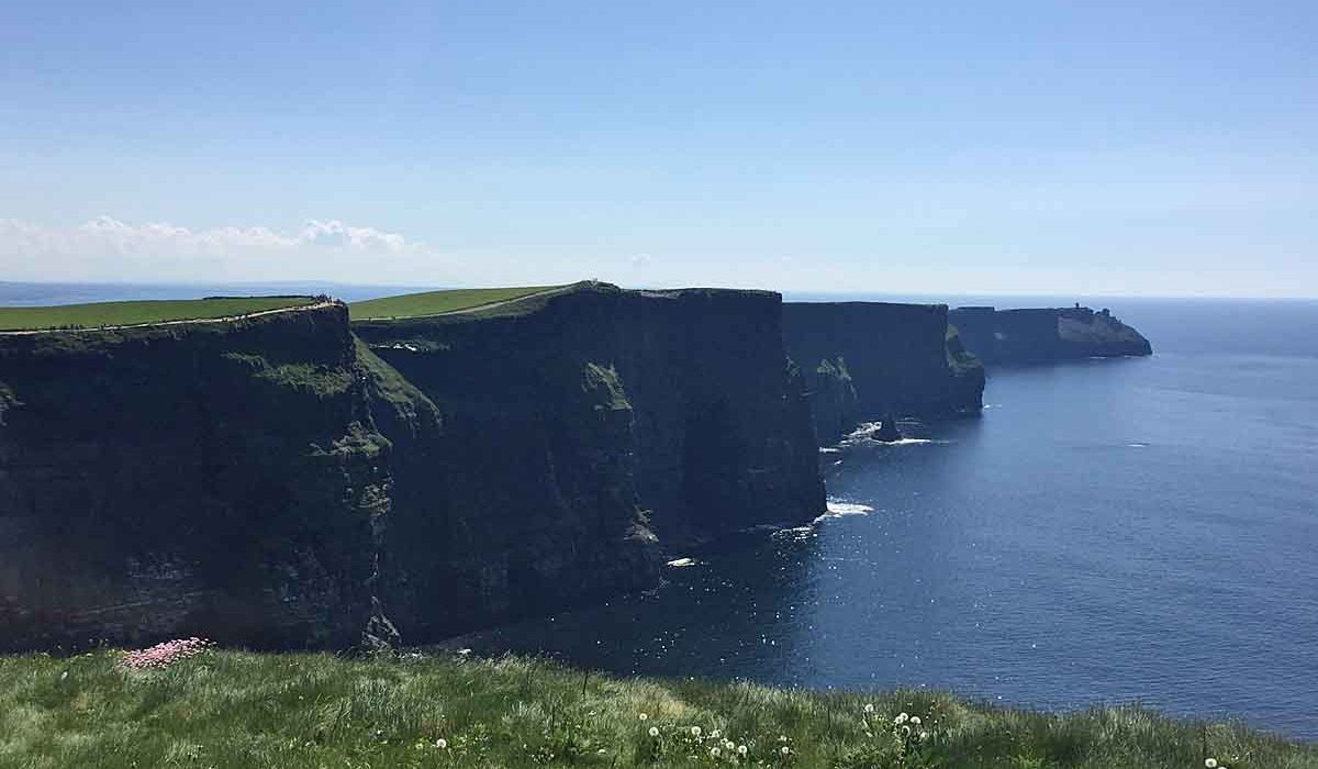 Falling in love with County Clare and Cliffs of Moher