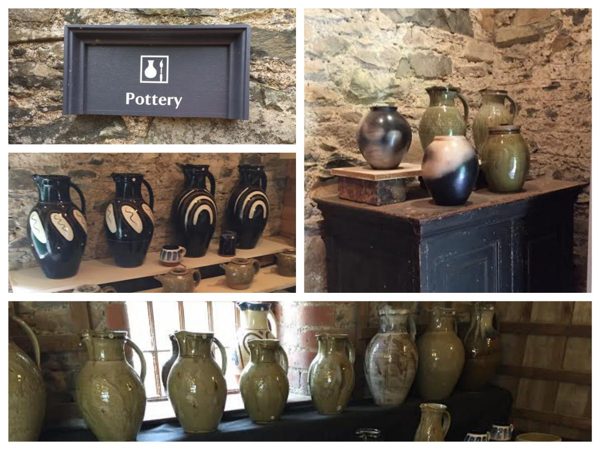 Rowallane Gardens Pottery - Pikalily Travel Blog