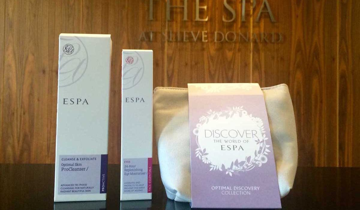 Escaping the Euros with a Spa package at Slieve Donard Hotel, Newcastle
