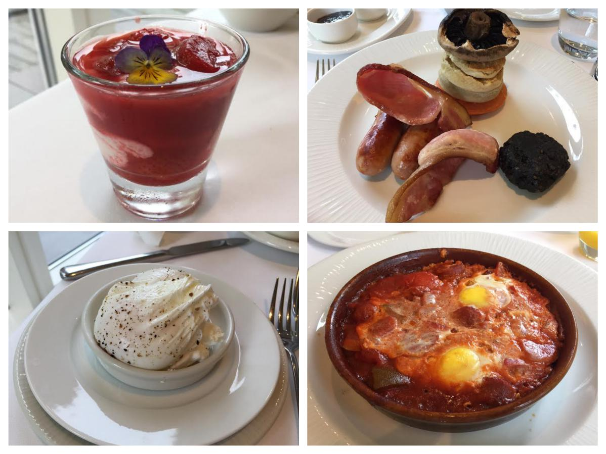Breakfast at Galgorm Hotel - Pikalily Food Travel Blog