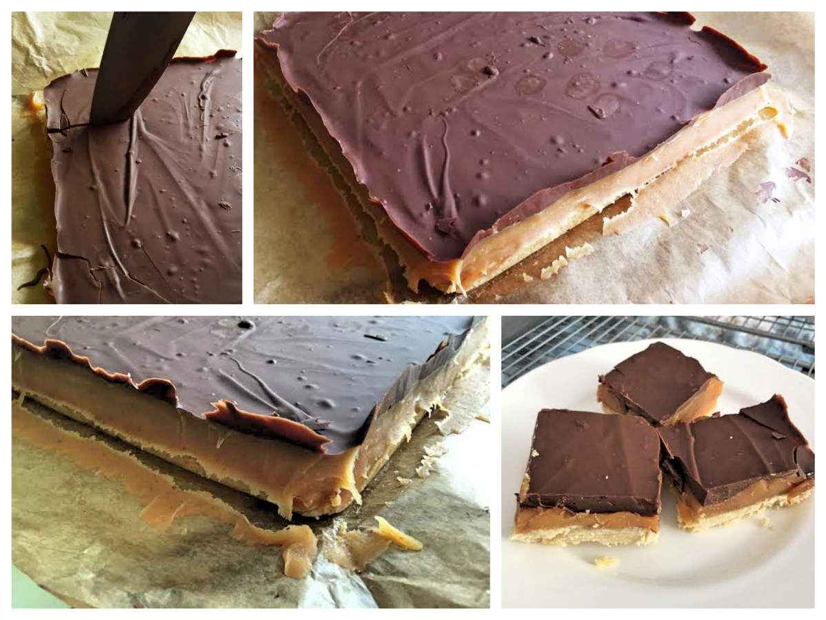 Easy Follow Salted Caramel Square Recipe - Pikalily Food Blog