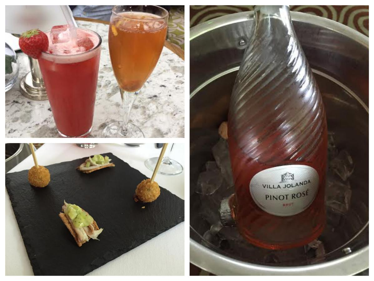 Drinks and Canapes - Galgorm Hotel - Pikalily Food Travel Blog