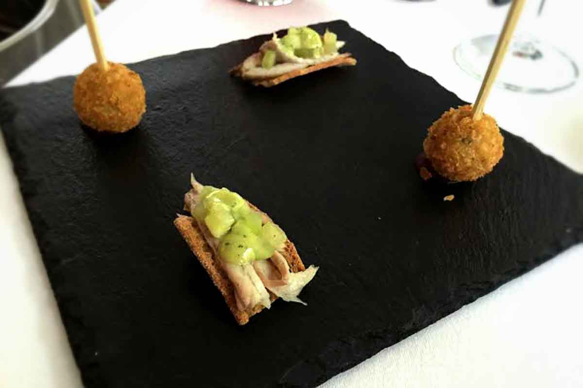 River Room Galgorm Canapes - Pikalily Food Travel Blog