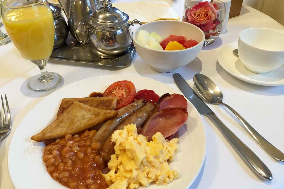 Breakfast Lough Erne Resort - Pikalily Food Travel Blog