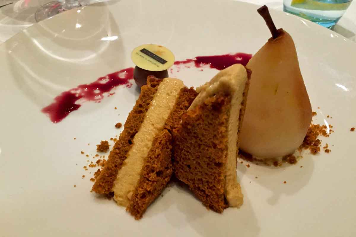 Dessert at Slieve Donard Hotel - Pikalily Food Travel Blog