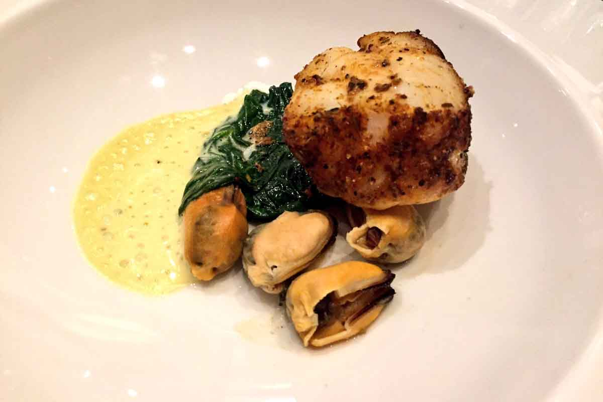 Monkfish at Slieve Donard Hotel - Pikalily Food Travel Blog