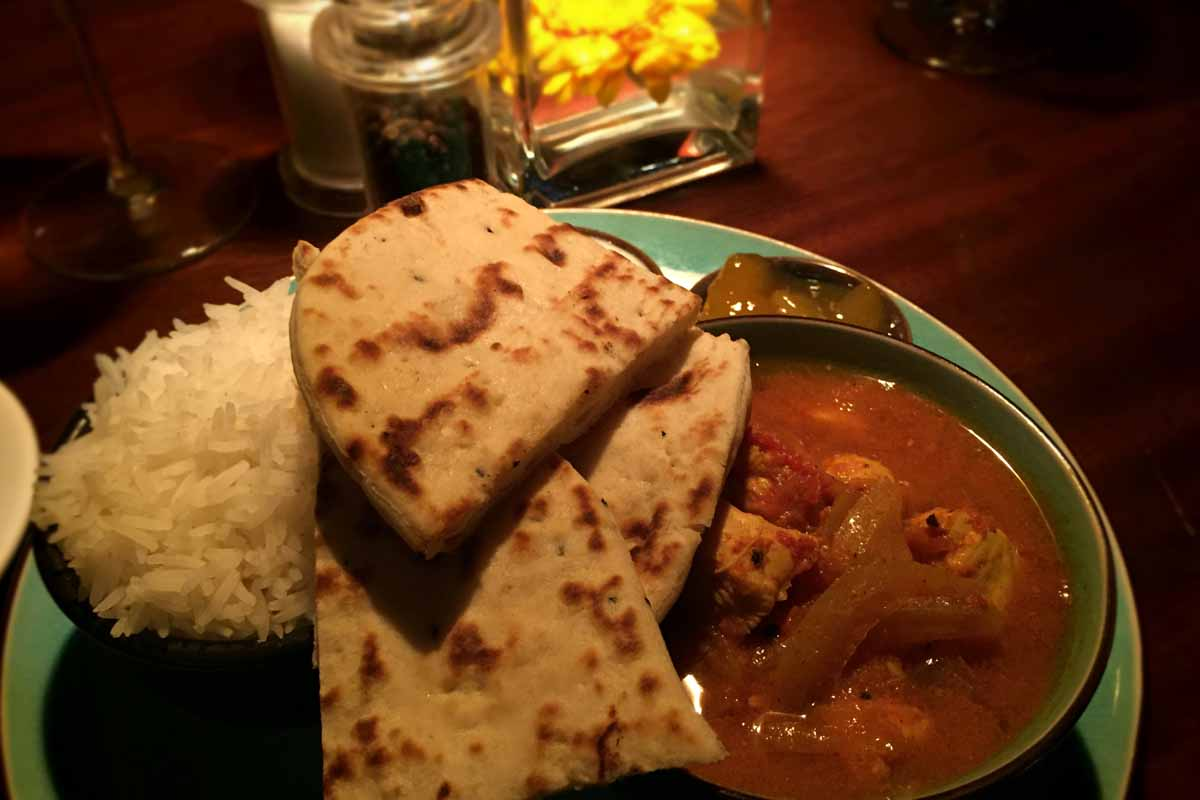Vindal Curry - Coq Bull Brasserie - Pikalily Food Travel Blog