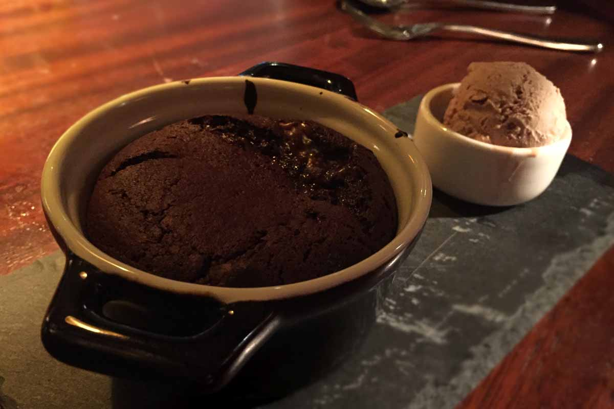 Dessert at Clandeboye Lodge - Pikalily Food Travel Blog