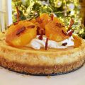 Caramelised Orange Baked Cheesecake Recipe - Pikalily Food Blog