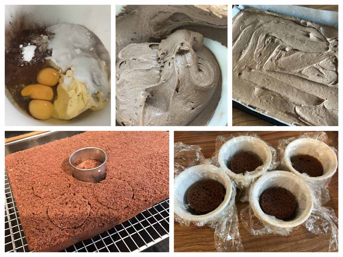 Chocolate sponge recipe - Pikalily Food Blog