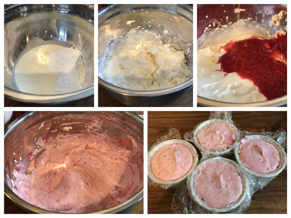 Raspberry Mousse Recipe - Pikalily Food Blog