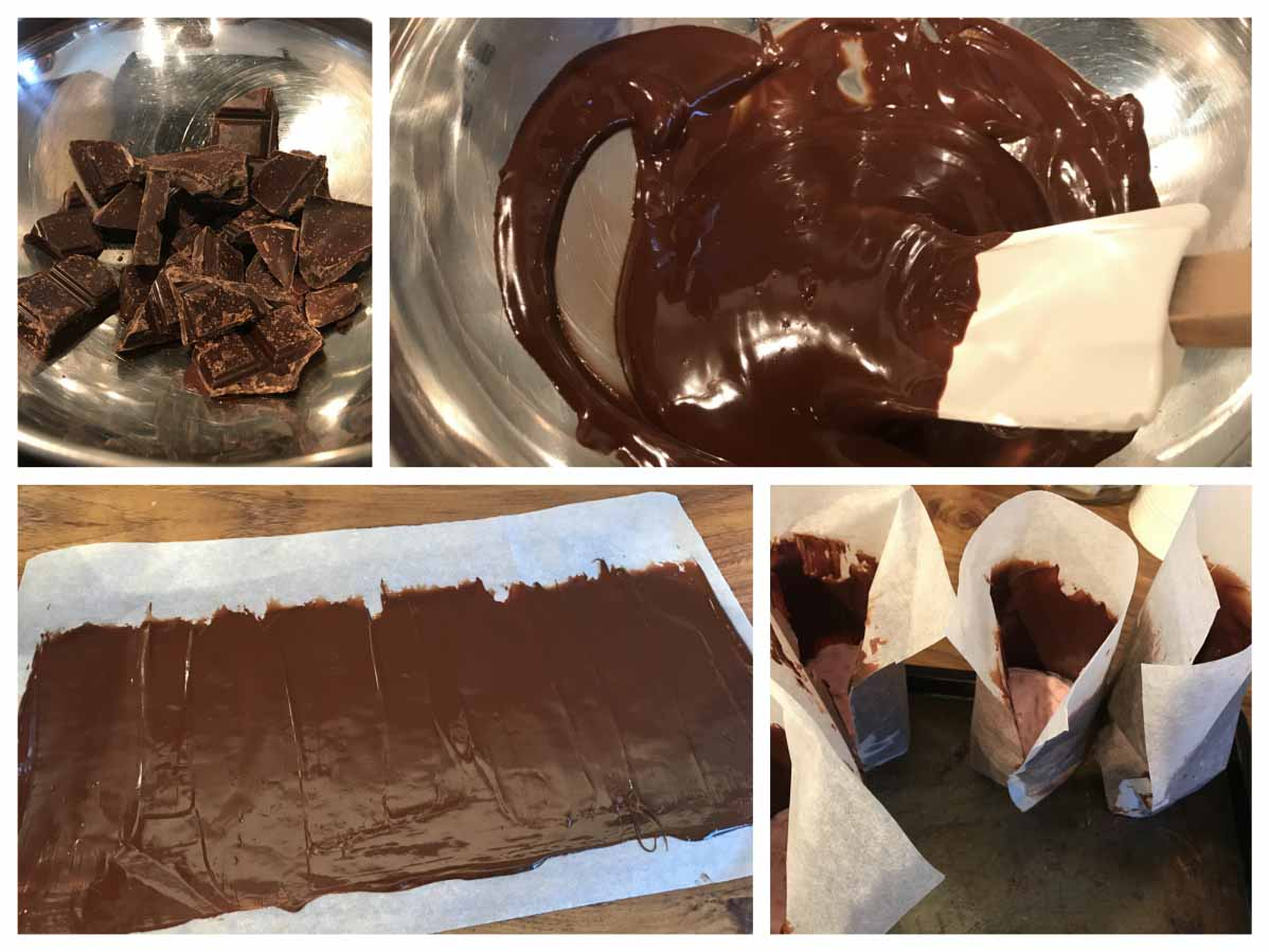 Chocolate Shards Recipe - Pikalily Food Blog