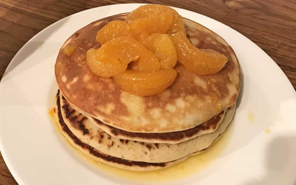 Orange Cardamom Pancake Recipe - Pikalily Food Blog