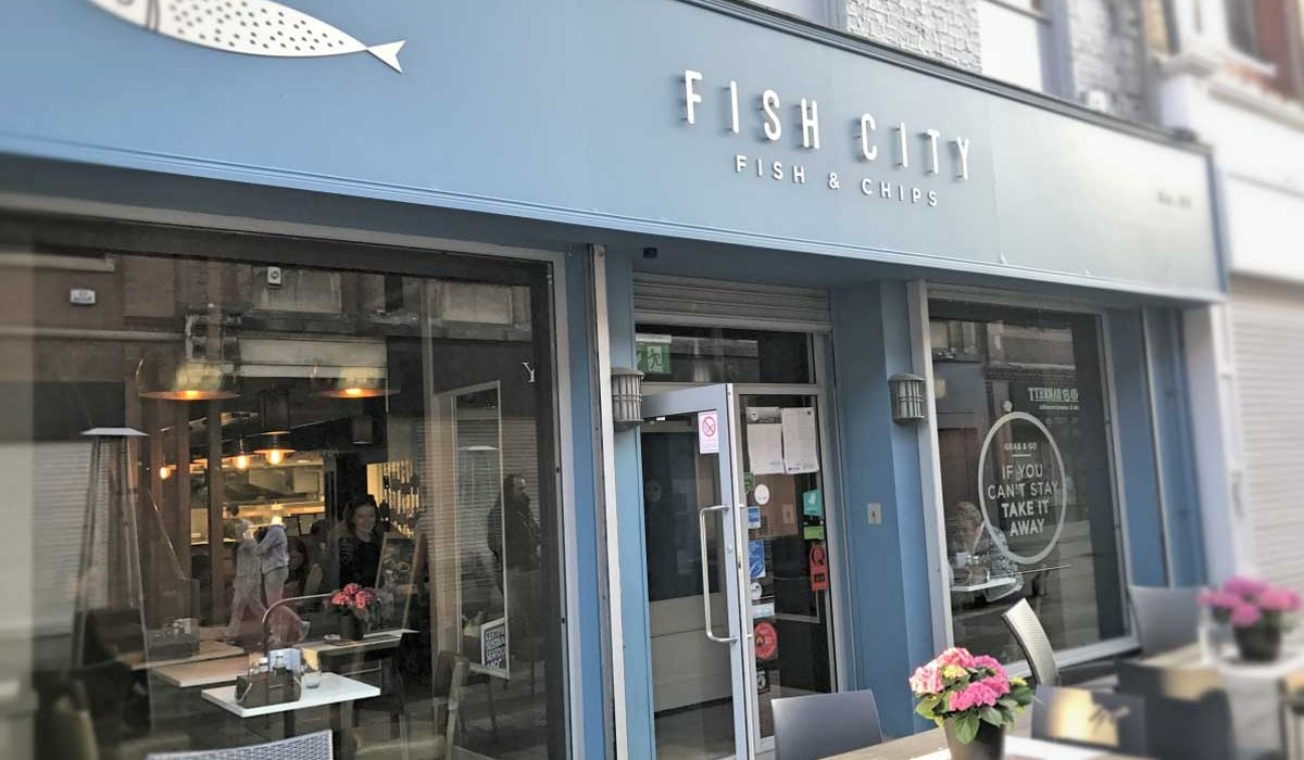 Dinner At Fish City, Belfast