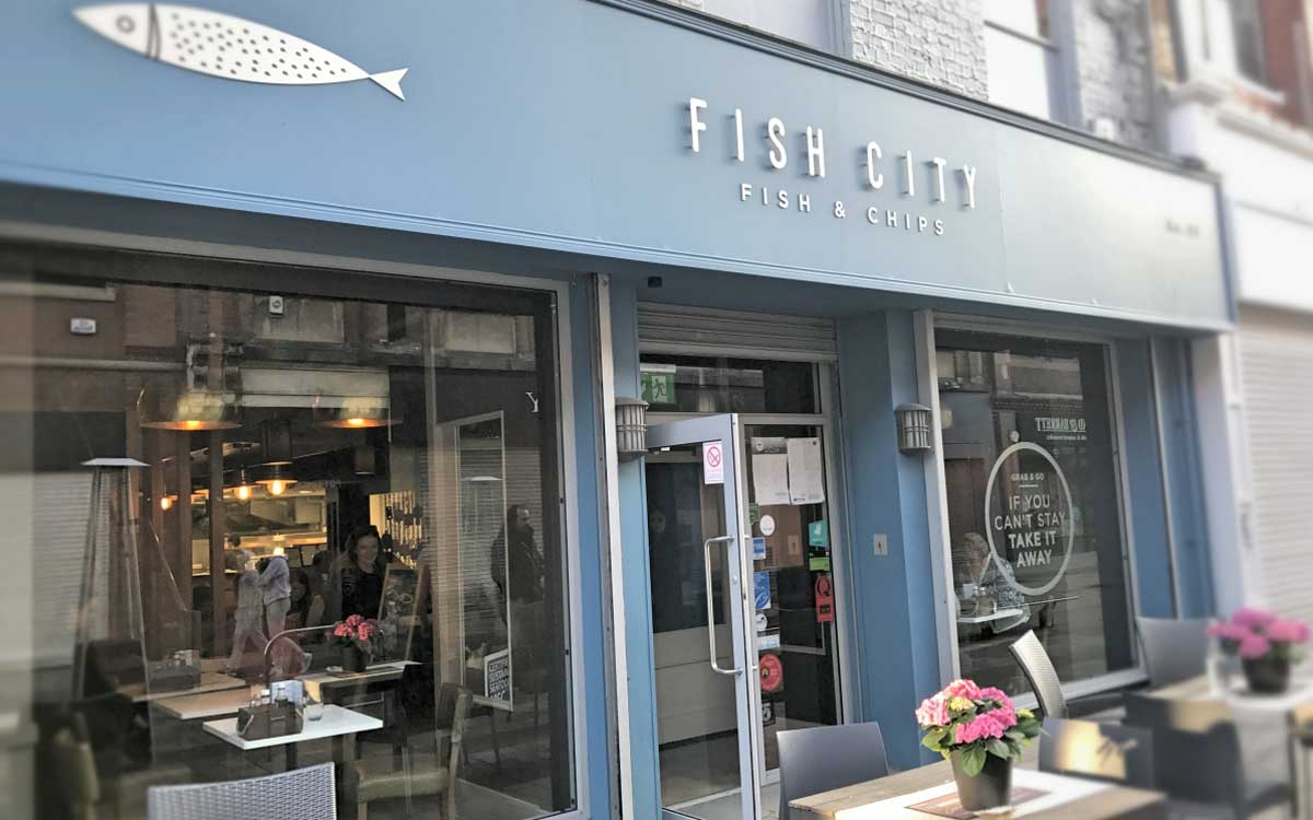Fish City Belfast Review - Pikalily Food Blog