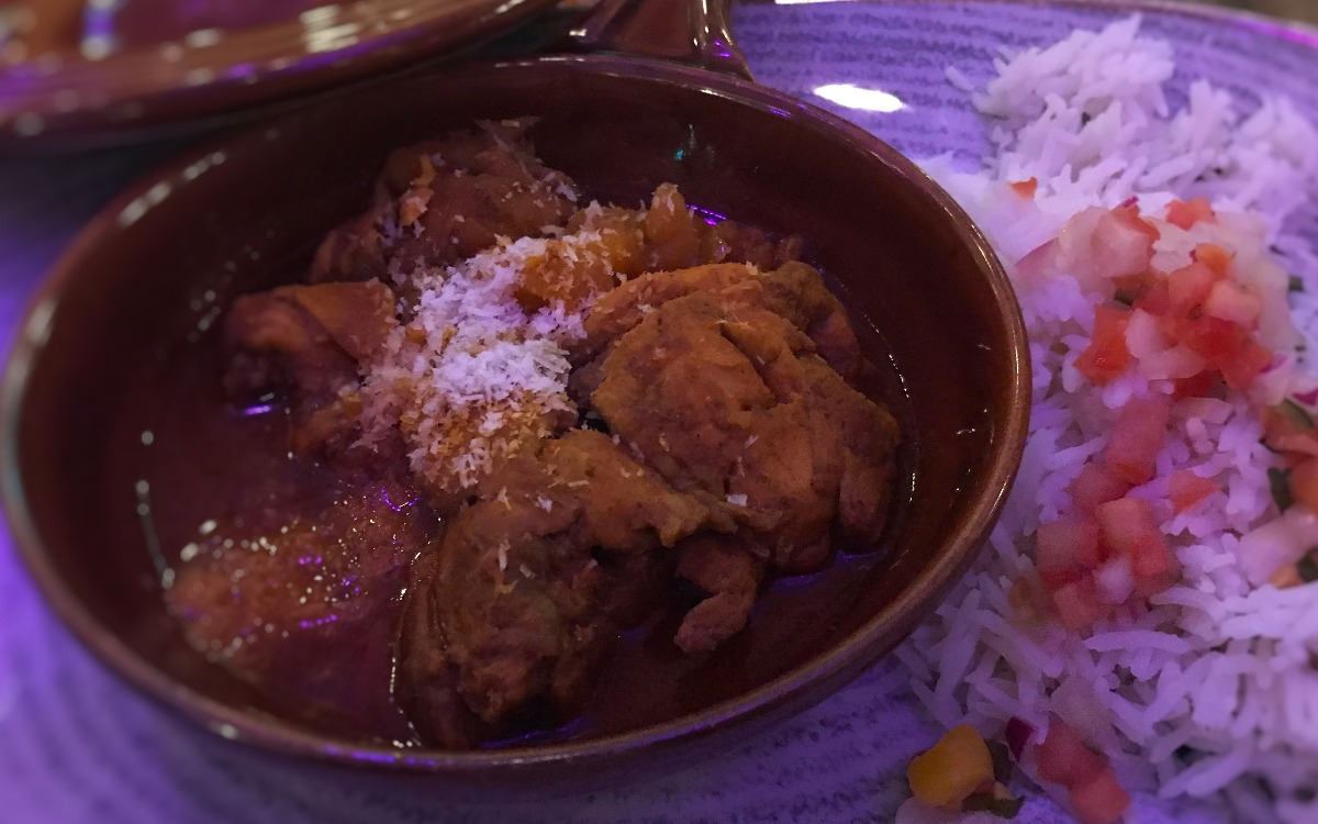 Caribbean Chicken Curry Revolucion de Cub Belfast - Pikalily Food Blog