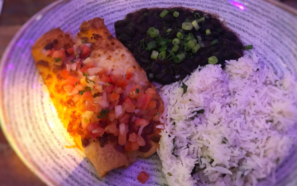 Chicken Enchilada Revolucion de Cub Belfast - Pikalily Food Blog