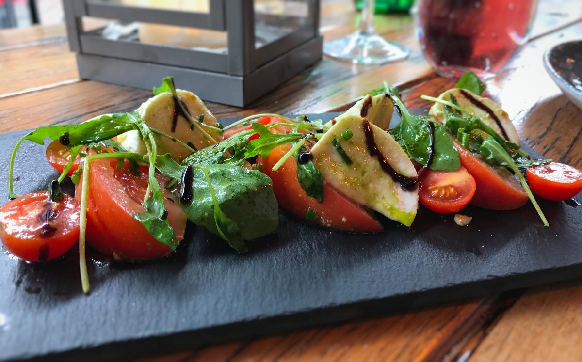 La Taverna Belfast Veggie Starters - Pikalily Food Blog