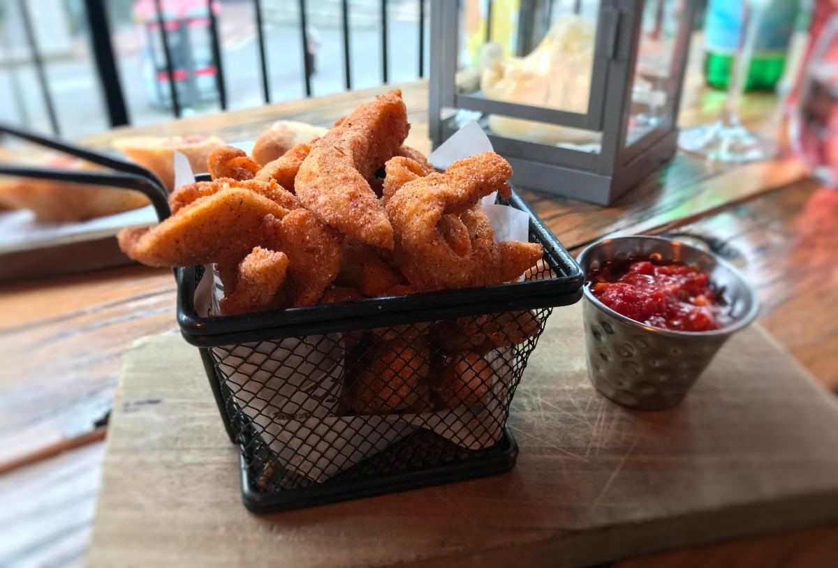 La Taverna Belfast Chicken Starters - Pikalily Food Blog