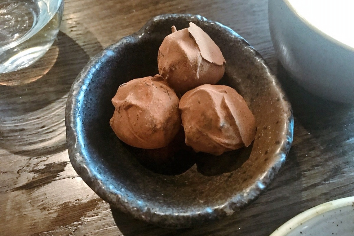 Chocolate Truffle - Wine and Brine Moira Review - Pikalily Blog