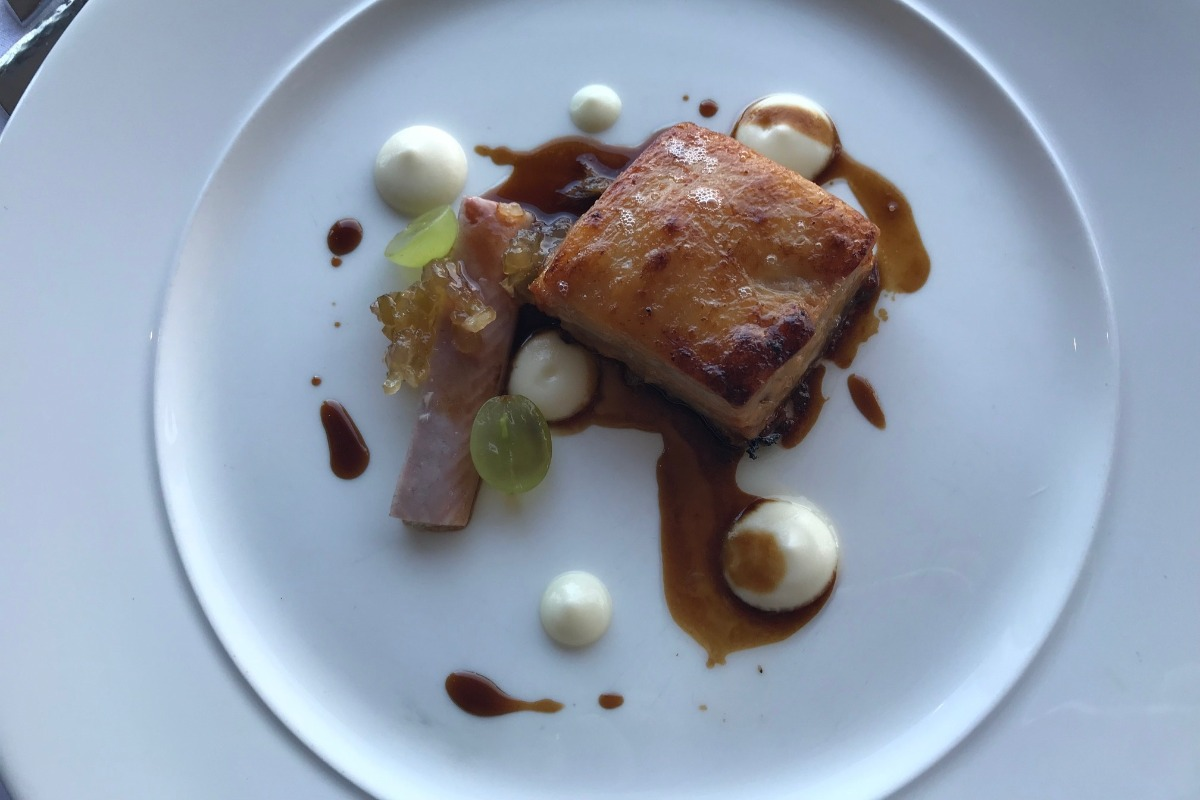 Pork Belly and Smoked Eel - Edge Restaurant Review - Pikalily Blog