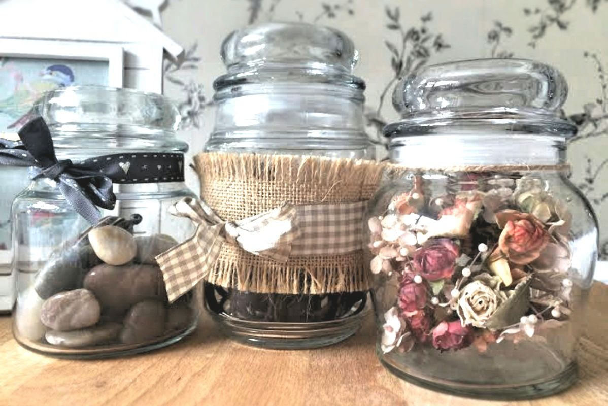 Upcycling Tips - Reusing Glass Jars - Pikalily Blog