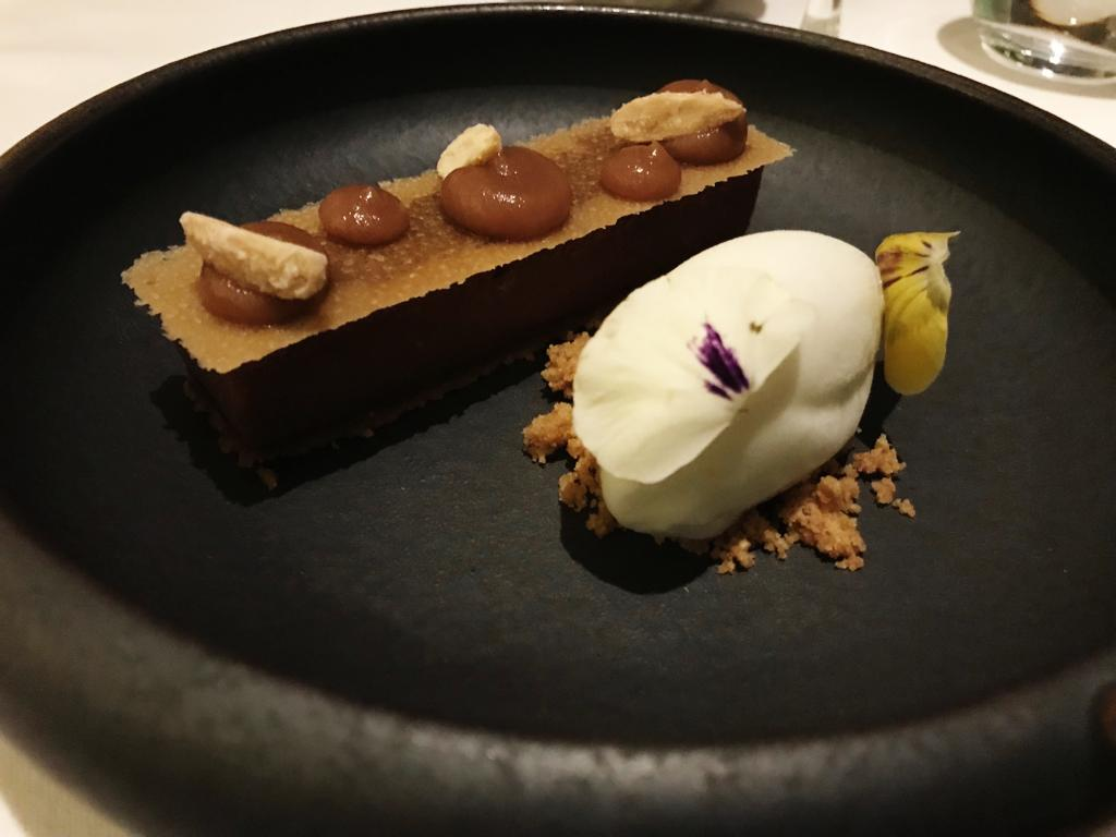 Gourmet Wine Night at Galgorm River Room - Caramel Tart - Pikalily Blog
