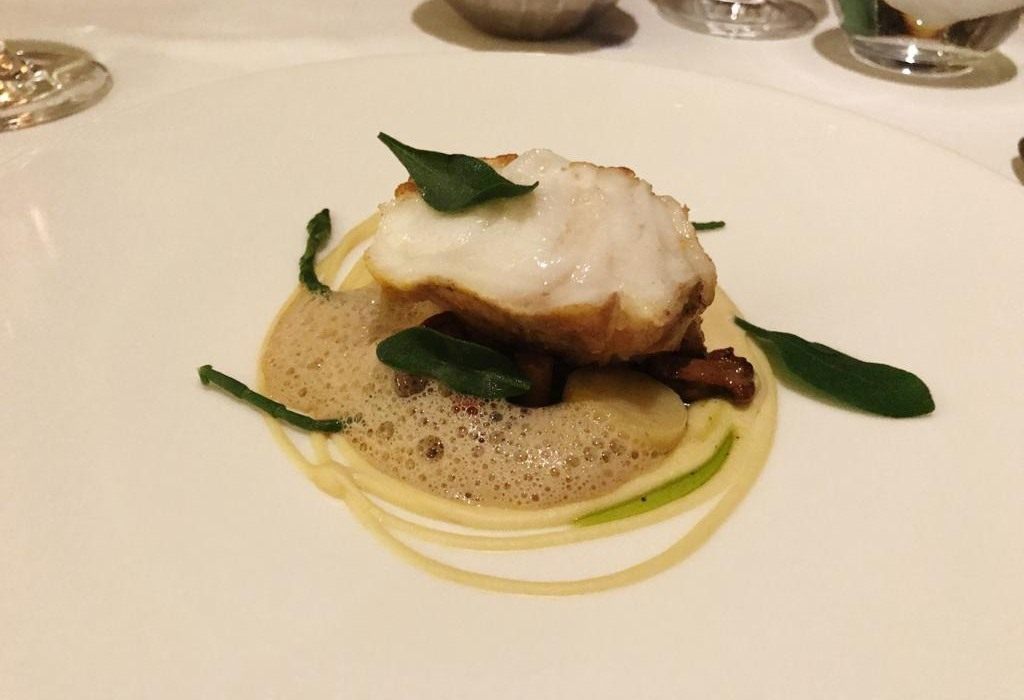 Gourmet Wine Night at Galgorm River Room - Monkfish Brown Butter - Pikalily Blog