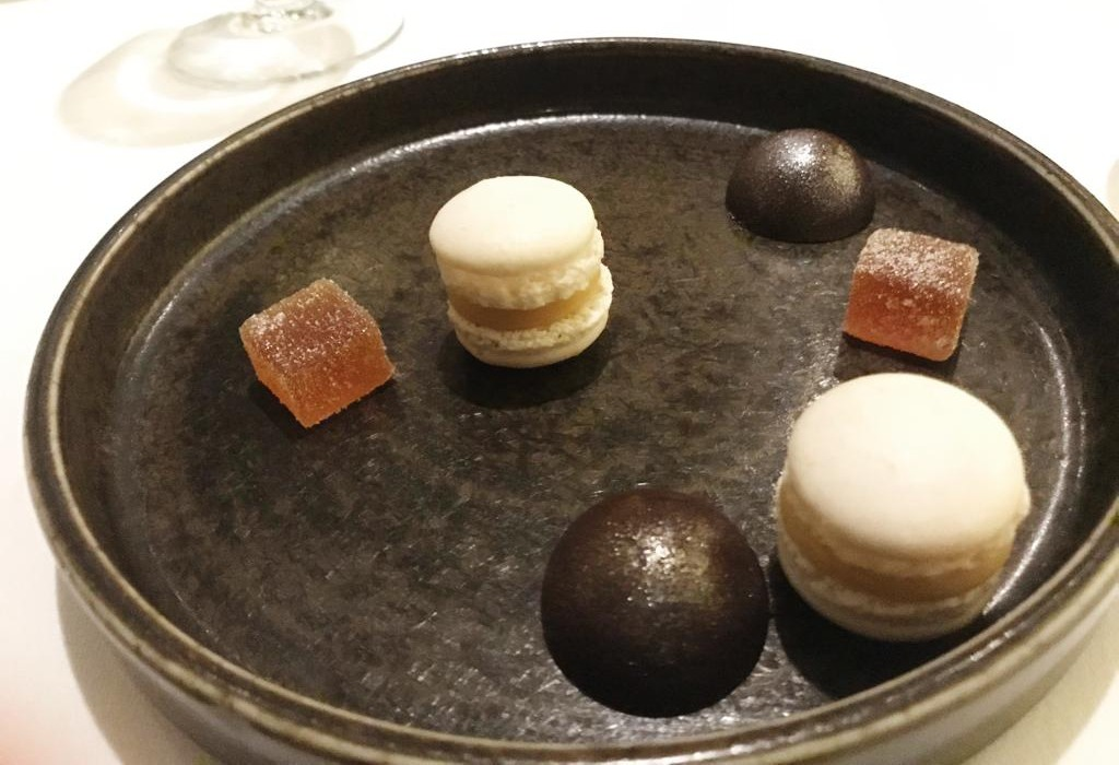 Gourmet Wine Night at Galgorm River Room - Petit Fours - Pikalily Blog